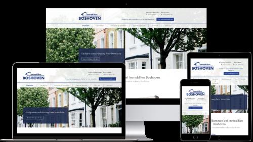 Homepage von Immobilien Boshoven