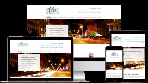 Homepage von Putz Immobilien