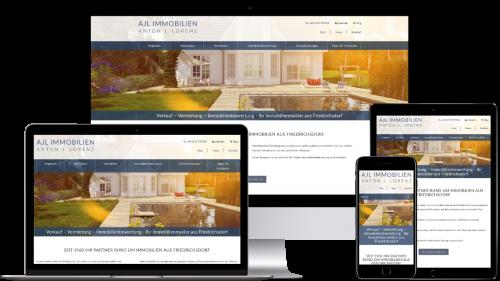 Homepage von AJL Immobilien