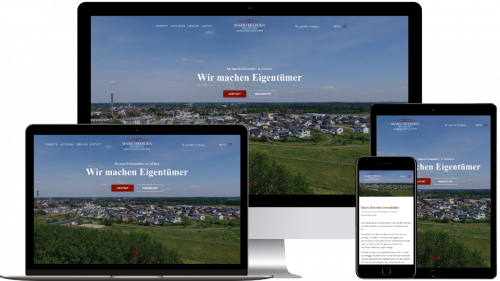 Homepage von Mario Beerden Immobilien