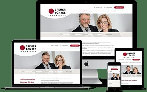 Immobilienmakler Homepage