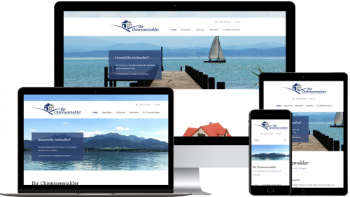 Homepage von Ihr Chiemseemakler