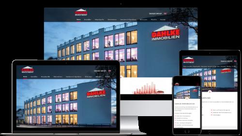 Homepage von Dahlke Immobilien