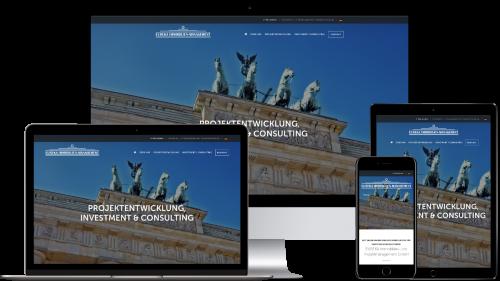 Homepage von Eureka Immobilien
