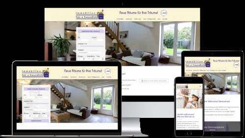 Homepage von Fair & Freundlich Immobilien