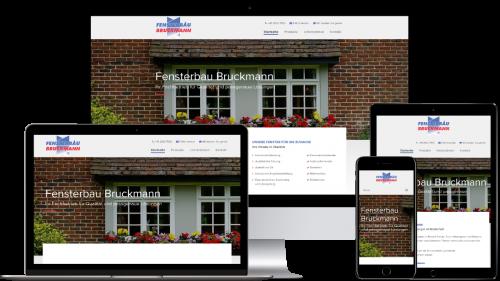 Homepage von Fensterbau Bruckmann