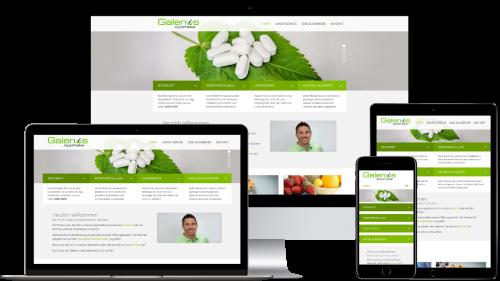 Homepage von Galenus Apotheke Geldern