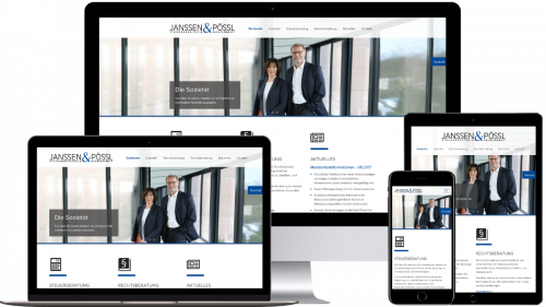 Homepage von Janssen & Pössl