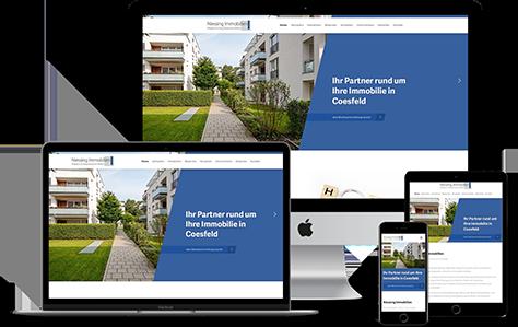 Niessing-Immobilien Immobilienmakler Homepage