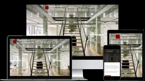 Homepage von Architekten von der Linde